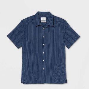 Goodfellow Printed Standard Fit Short Sleeve Shirt